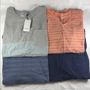 Lot of  four (4) men's Goodfellow & Co XXL tshirts